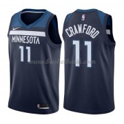 Minnesota Timberwolves Basket Tröja 2018 Jamal Crawford 11# Icon Edition..