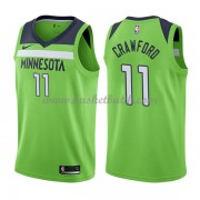 Minnesota Timberwolves Basket Tröja 2018 Jamal Crawford 11# Statement Edition..