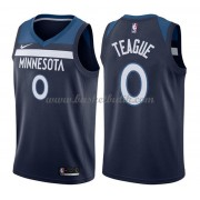 Minnesota Timberwolves Basket Tröja 2018 Jeff Teague 0# Icon Edition..