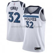 Minnesota Timberwolves Basket Tröja 2018 Karl Anthony Towns 32# Association Edition..