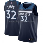 Minnesota Timberwolves Basket Tröja 2018 Karl Anthony Towns 32# Icon Edition..