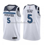 Minnesota Timberwolves Basket Tröja 2018 Karl Gorgui Dieng 5# Association Edition..