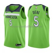 Minnesota Timberwolves Basket Tröja 2018 Karl Gorgui Dieng 5# Statement Edition..