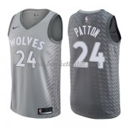 Minnesota Timberwolves Basket Tröja 2018 Karl Justin Patton 24# City Edition..