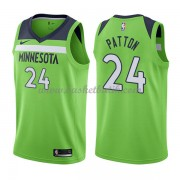 Minnesota Timberwolves Basket Tröja 2018 Karl Justin Patton 24# Statement Edition..