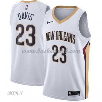 Barn NBA Tröja New Orleans Pelicans 2018 Anthony Davis 23# Association Edition