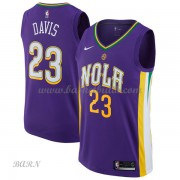 Barn NBA Tröja New Orleans Pelicans 2018 Anthony Davis 23# City Edition..