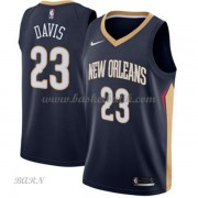 Barn NBA Tröja New Orleans Pelicans 2018 Anthony Davis 23# Icon Edition..