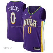 Barn NBA Tröja New Orleans Pelicans 2018 DeMarcus Cousins 0# City Edition..
