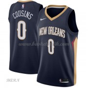 Barn NBA Tröja New Orleans Pelicans 2018 DeMarcus Cousins 0# Icon Edition..
