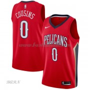 Barn NBA Tröja New Orleans Pelicans 2018 DeMarcus Cousins 0# Statement Edition..
