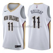 Barn NBA Tröja New Orleans Pelicans 2018 Jrue Holiday 11# Association Edition..