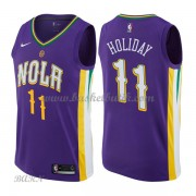 Barn NBA Tröja New Orleans Pelicans 2018 Jrue Holiday 11# City Edition..