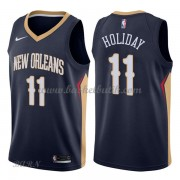 Barn NBA Tröja New Orleans Pelicans 2018 Jrue Holiday 11# Icon Edition..