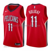 Barn NBA Tröja New Orleans Pelicans 2018 Jrue Holiday 11# Statement Edition..