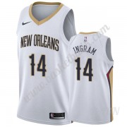 Barn NBA Tröja New Orleans Pelicans 2019-20 Brandon Ingram 14# Vit Association Edition Swingman..