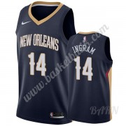 Barn NBA Tröja New Orleans Pelicans 2019-20 Brandon Ingram 14# Marinblå Icon Edition Swingman..