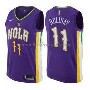 New Orleans Pelicans Basket Tröja 2018 Jrue Holiday 11# City Edition..