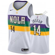 New Orleans Pelicans Basket Tröja 2019-20 Brandon Ingram 14# Vit City Edition Swingman..