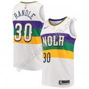 New Orleans Pelicans Basket Tröja 2019-20 Julius Randle 30# Vit City Edition Swingman..