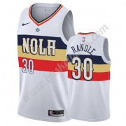 New Orleans Pelicans Basket Tröja 2019-20 Julius Randle 30# Vit Earned Edition Swingman..