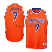 New York Knicks Barn Basket Linne Carmelo Anthony 7# Alternate..
