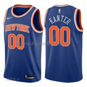 Barn NBA Tröja New York Knicks 2018 Enes Kanter 0# Icon Edition..