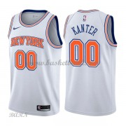Barn NBA Tröja New York Knicks 2018 Enes Kanter 0# Statement Edition..