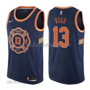 Barn NBA Tröja New York Knicks 2018 Joakim Noah 13# City Edition..