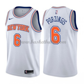 New York Knicks Basket Tröja 2018 Kristaps Porzingis 6# Statement Edition