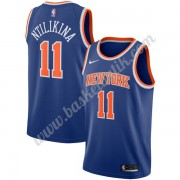 New York Knicks Basket Tröja 2019-20 Frank Ntilikina 11# Blå Icon Edition Swingman..