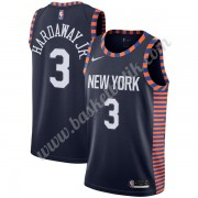 New York Knicks Basket Tröja 2019-20 Tim Hardaway Jr. 3# Marinblå City Edition Swingman..