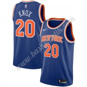 New York Knicks Basket Tröja 2019-20 Kevin Knox 20# Blå Icon Edition Swingman..