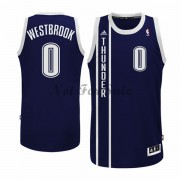 Barn NBA Tröja Oklahoma City Thunder Russell Westbrook 0# Blå Alternate..
