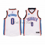 Barn NBA Tröja Oklahoma City Thunder Russell Westbrook 0# Home..