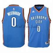 Barn NBA Tröja Oklahoma City Thunder Russell Westbrook 0# Road..