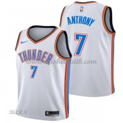 Barn NBA Tröja Oklahoma City Thunder 2018 Carmelo Anthony 7# Association Edition..