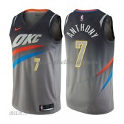 Barn NBA Tröja Oklahoma City Thunder 2018 Carmelo Anthony 7# City Edition..