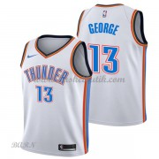 Barn NBA Tröja Oklahoma City Thunder 2018 Paul George 13# Association Edition..
