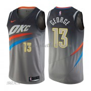 Barn NBA Tröja Oklahoma City Thunder 2018 Paul George 13# City Edition..