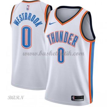 Barn NBA Tröja Oklahoma City Thunder 2018 Russell Westbrook 0# Association Edition