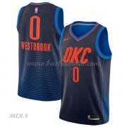 Barn NBA Tröja Oklahoma City Thunder 2018 Russell Westbrook 0# Statement Edition..