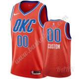 Barn NBA Tröja Oklahoma City Thunder 2019-20 Orange Statement Edition Swingman