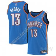 Barn NBA Tröja Oklahoma City Thunder 2019-20 Paul George 13# Blå Icon Edition Swingman..