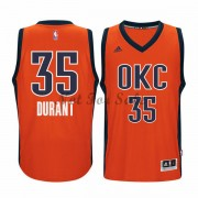 Oklahoma City Thunder Basket Tröja Kevin Durant 35# Orange Alternate..