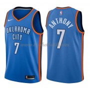 Oklahoma City Thunder Basket Tröja 2018 Carmelo Anthony 7# Icon Edition..