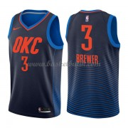 Oklahoma City Thunder Basket Tröja 2018 Corey Brewer 3# Statement Edition..