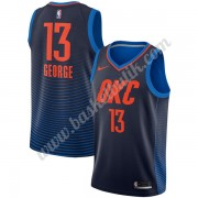 Oklahoma City Thunder Basket Tröja 2018 Paul George 13# Statement Edition..
