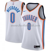 Oklahoma City Thunder Basket Tröja 2018 Russell Westbrook 0# Association Edition..