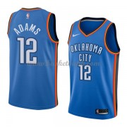 Oklahoma City Thunder Basket Tröja 2018 Steven Adams 12# Icon Edition..